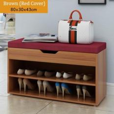 Bench with Shoe Storage - Brown(Brown)