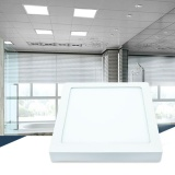 Sale Benedication 18W Led White Body Surface Mount Ceiling Panel Down Light Lamp Cool White 6500K Intl