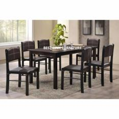 BEST LINK FURNITURE 750 + 51211 (1 + 6) Dining Set
