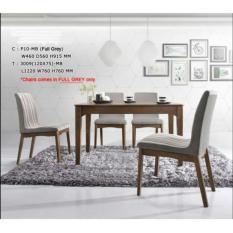 Sale Bff 3009 Ds Solid Wooden Dining Set 1 6 Big Furniture Factorie