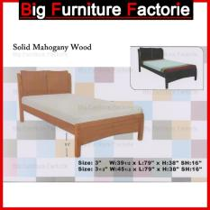 BFF-311-WB Solid Mahogany Wooden Bed