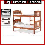 Sale Bff 43 Dd Solid Wooden Bunk Bed Online Singapore