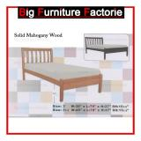 Sale Bff 630 Wb Solid Mahogany Wooden Bed Singapore
