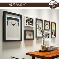 Solid Wood Picture Frame Decorative Combination Set