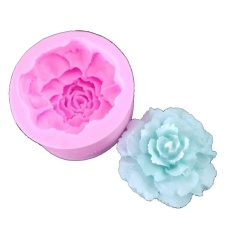 Discount Big Carnations Silicone Fondant Diy Baking Chocolate Mold Pink Intl Oem On China