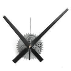 Big DIY Clock Mechanism 11.8 Hands Movement Retro Gear Wall Clock Home Decor