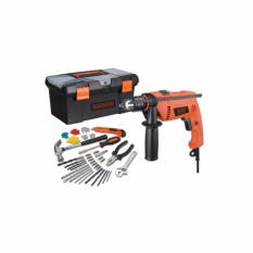 Black And Decker Hd650Bxh 650W Home Starter Kit 13Mm Hammer Drill Sale