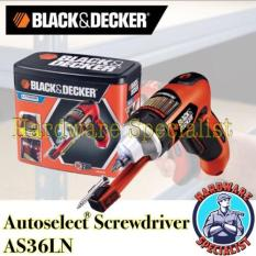 Black & Decker AS36LN Auto Select Screwdriver Singapore
