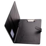 Who Sells Black Business A4 Executive Conference Folder Portfolio Clipboard Pu Leather