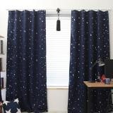 Best Offer Blackout Thermal Solid Window Curtai Dark Blue