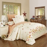 Best Reviews Of Blq 100 Cotton A B 2 Tone Pattern Duvet Cover For All Size Bed Light Yellow Flower Appointment Intl
