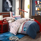 Discount Blq Cotton Star Pattern Duvet Cover Single Bed Double Bed Modern Style Quilt Cover Anchor Intl Oem