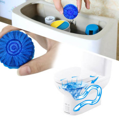 New Blue Bubble Toilet Cleaner Set Of 50Pieces