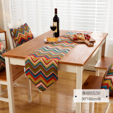Buy American Striped Printed Table Runner Cloth Oem Online