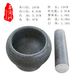Price 12 Cm Bluestone Stone Mortar Garlic Smasher Online China