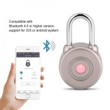 Bluetooth Smart Door Lock Waterproof App Control Keyless Gate Bicycle Security Padlock Silver Intl Oem Cheap On China