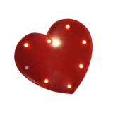 Wholesale Bolehdeals 12Inch Red Led Letter Light Circus Style Alphabet Light Up Sign Heart Intl