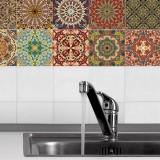 Review Bolehdeals 20 Pieces Mosaic Wall Tiles Stickers Kitchen Bathroom Tile Decals Home Wall Decoration Intl On Hong Kong Sar China