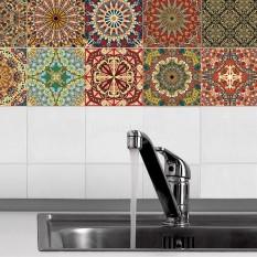 Best Deal Bolehdeals 20 Pieces Mosaic Wall Tiles Stickers Kitchen Bathroom Tile Decals Home Wall Decoration Intl