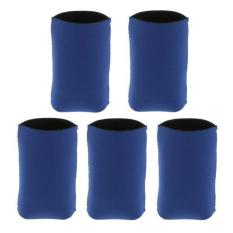 Bolehdeals 5x Neoprene Cooling Beer Drinks Bottle Tin Can Cooler Sleeve Holder Blue - Intl By Bolehdeals.