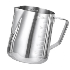 Bolehdeals 600ml Stainless Steel Coffee Milk Frothing Jug Garland Cup With Scale Cup - Intl By Bolehdeals.