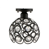 Review Bolehdeals Elegant Iron Crystal Ceiling Light Cover Chandelier Pendant Lampshade Black Intl Hong Kong Sar China