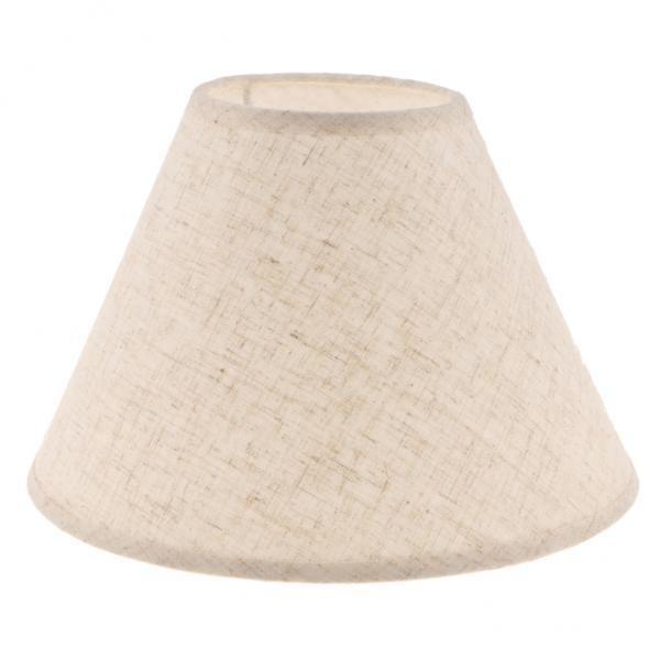 BolehDeals Fabric Lampshade Table Lamp Shade Floor Lamp Bedside Lamp Light Shade Flaxen - intl