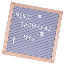Discount Bolehdeals Felt Letter Board 10X10Inches Changeable Letter Boards With 340 White Plastic Letters Wood Frame Wall Mount Free Canvas Bag Intl Bolehdeals On Hong Kong Sar China