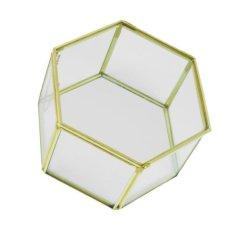 Bolehdeals Irregular Glass Geometric Succulent Planter Vase Box Terrarium Container 4 Intl Bolehdeals Discount