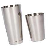 Bolehdeals Martini Bar Cocktail Shaker Stainless Steel Boston Mixing Tin Set 800 600Ml Intl Compare Prices