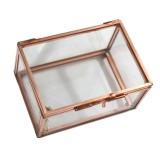 Best Price Bolehdeals Modern Glass Metal Cuboid Geometric Terrarium Succulent Plants Container S Intl