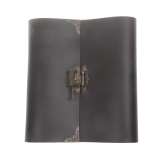 Best Price Bolehdeals Pu Leather Photo Album Memo Book Diy Scrapbook Lock Vintage 24 X 22Cm Brown Export