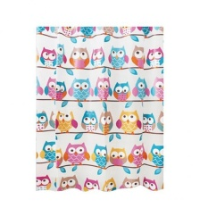For Sale Bolehdeals Shower Curtain Plastic Eva Water Repellent Liner Bath Decor Cute Owl Intl