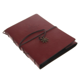 Bolehdeals Vintage Pu Leather Photo Album Memo Book Diy Scrapbook Memory Gift 21 X 27Cm Export Review