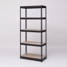 Retail Blmg Boltless Rack 5Tier 800 1800 Black Free Delivery