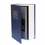Best Rated Book Safe New English Dictionary Secret Hidden Cash Money Box Jewellery Security With Combination Lock Diversion Book Small Size Blue