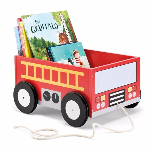 Book Storage Cart - Fire Fight Truck