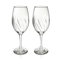 Borgonovo Mistral Aerating Wine Glasses 64Cl 2 Piece Set In Stock