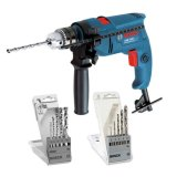 Low Price Bosch Impact Drill Gsb 1300 With 2 Drill Bit Set