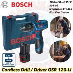 Buy Brand New Bosch Cordless Drill Driver Gsr 120 Li Bosch Online