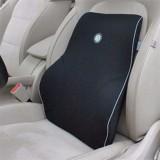 Breathable Back Support Cushion Pillow Memory Foam Lumbar Home Chair Car Seat Black 4 Season Use Intl Price Comparison