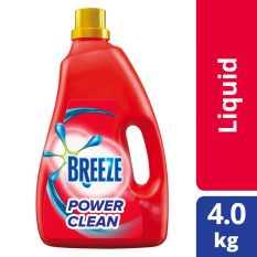 Breeze Power Clean Liquid Detergent 4kg