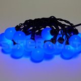 Bright 4 7M Waterproof 20 Led Round Balls Blue Led String Lights Fairy Lights For Weddings Garden Christmas Holiday Patio Xmas Party Decoration Outdoor Decor Intl Review