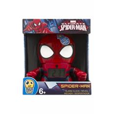 Bulbbotz Spider Man 7 5 Inches Digital Quartz Light Up Alarm Clock Free Shipping