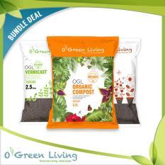 Bundle Set Ogl Potting Soil 5L Compost 2 5L Vermicast 2 5L Shop