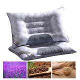 Low Cost Buy 1 Free 1Lavender Buckwheat Magnetic Health Pillow Intl