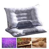 Review Buy 1 Free 1Lavender Buckwheat Magnetic Health Pillow Intl Jieyuhan