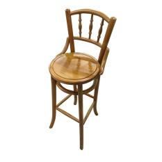 C57 Kopitiam Bar Chair - Mahogany