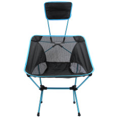 Sale Camtoa Breathable Backrest Folding Chair For Fishing Portable Outdoor Beach Sunbath Chairs Blue Camtoa Branded