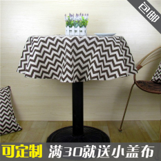 Price Comparisons For Can Be Invoiced Small Round Tablecloth Fabric Linen Retro Art Nordic Hotel Tablecloth Linen Cover Cloth